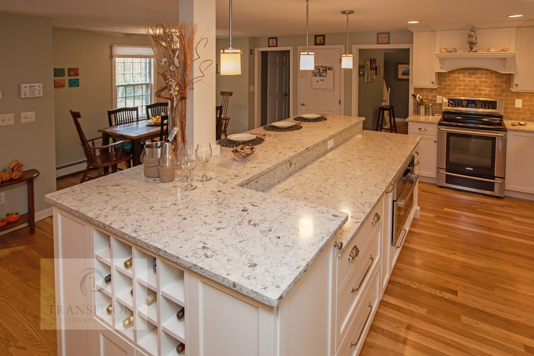 kitchen design with quartz countertop