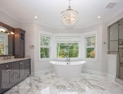 Large master bath design