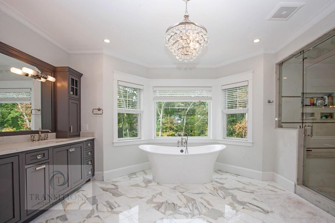 Transitions Kitchens And Baths Serene Master Bath