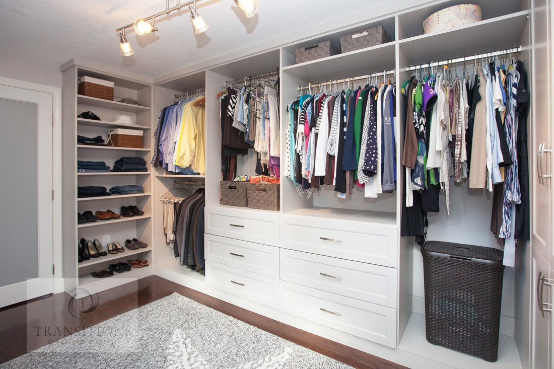 The Closet Systems offers over 50 storage options ranging from shallow cabinets to walk-in closets. Designed to be paired with any space saving wall bed.