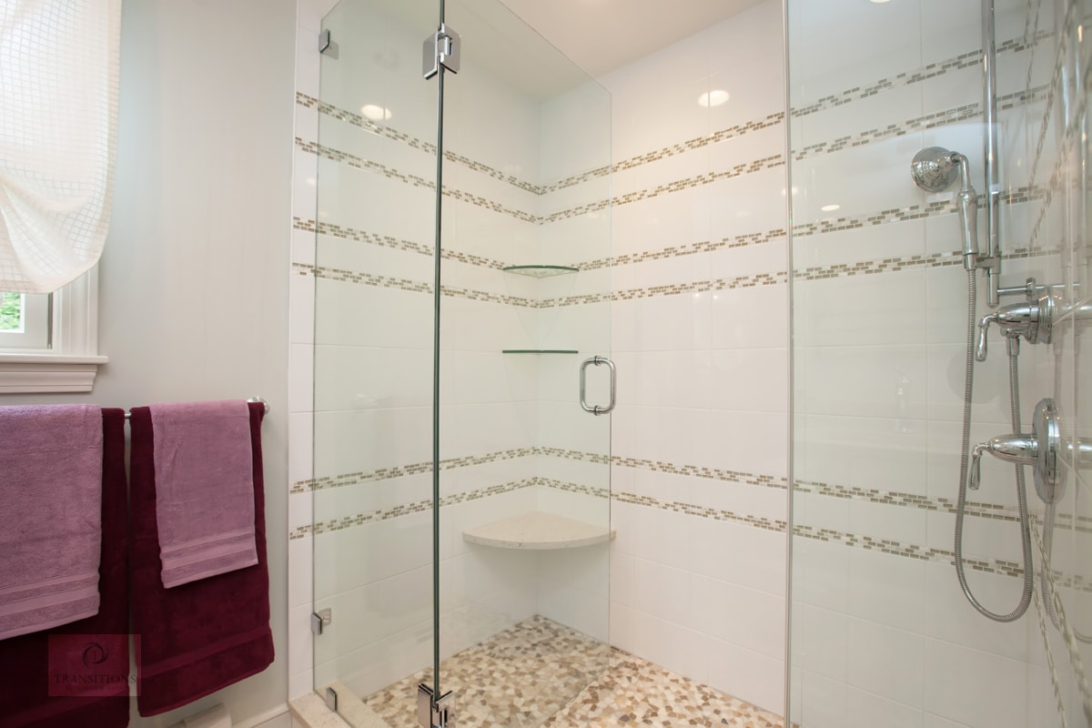 frameless glass shower design