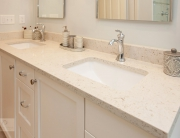 kitchen vanity with undermount sink