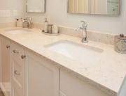 kitchen vanity with undermount sink