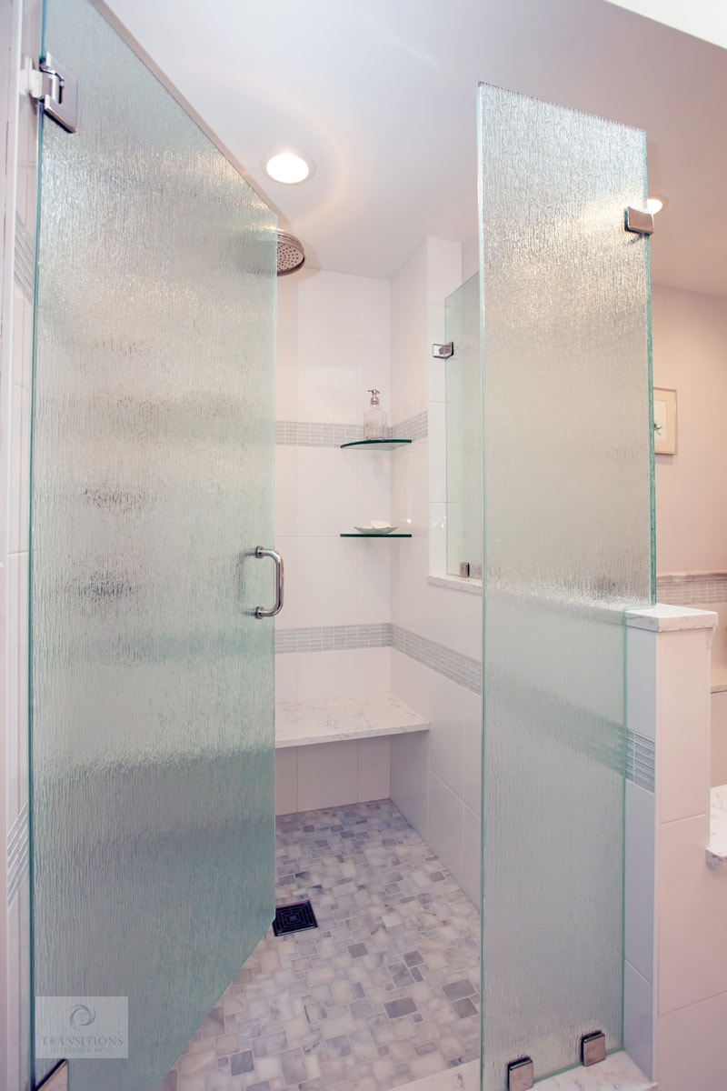 large shower design