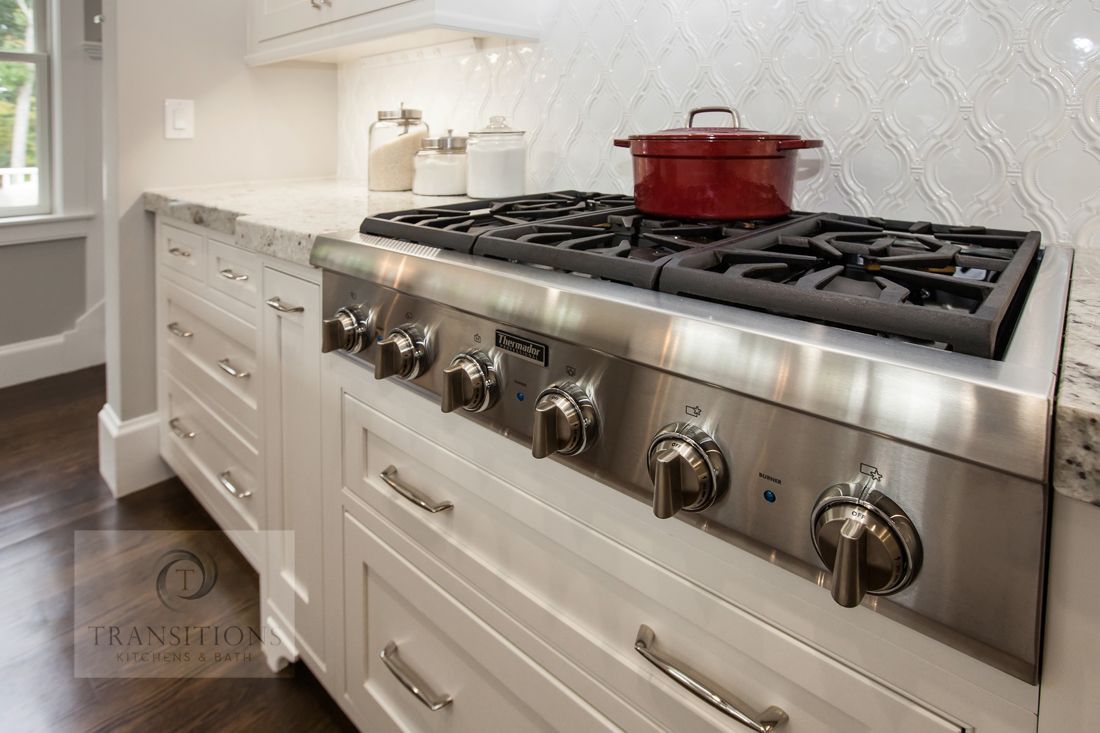 professional style kitchen range