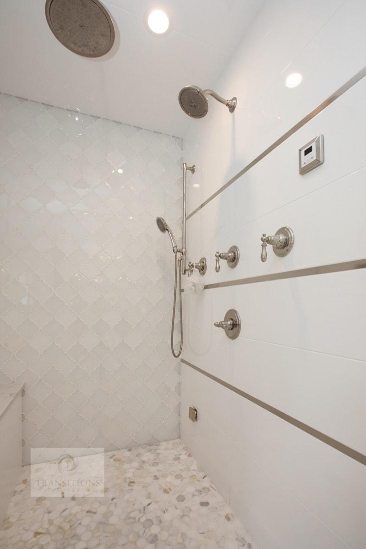 large luxury shower design